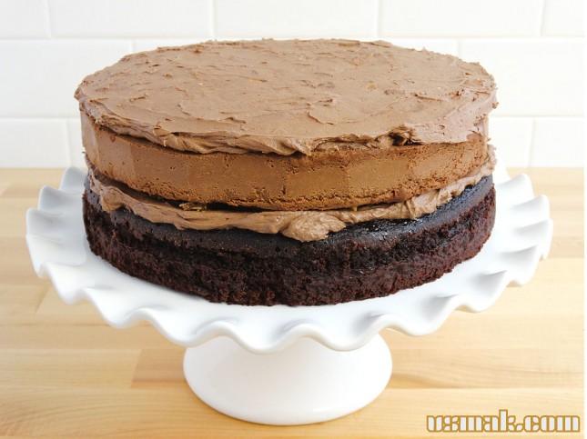 рецепт торта с бисквитным коржом