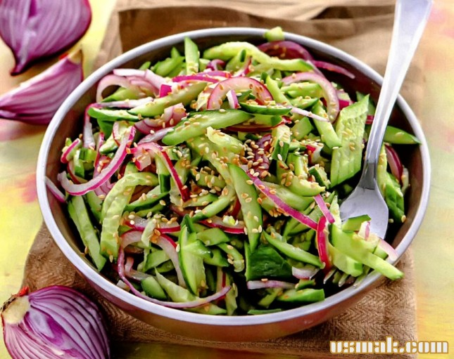 Рецепт Огуречный салат