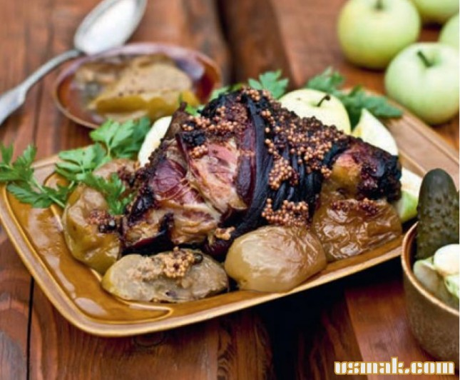 Рецепт Закуски из яблок