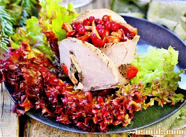 салат радуга рецепт колбаса