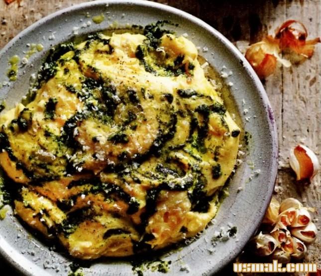 Рецепты с полентой от оливера